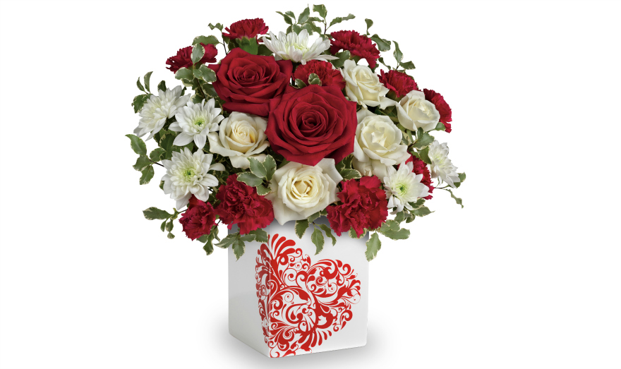 teleflora best friends forever bouquet Valentine's Day with Teleflora & Love Notes Concierge