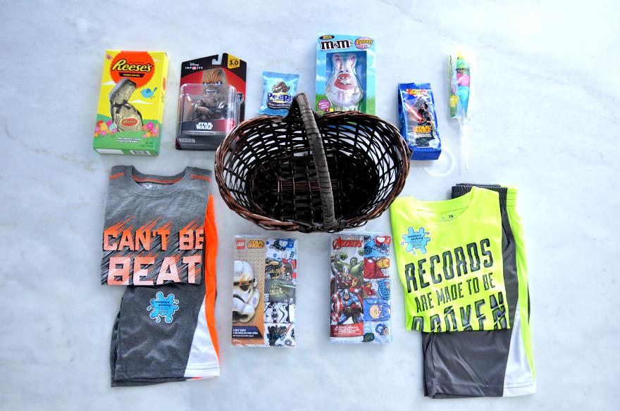 The Perfect Little Boys Easter Basket #SpringAtKohls