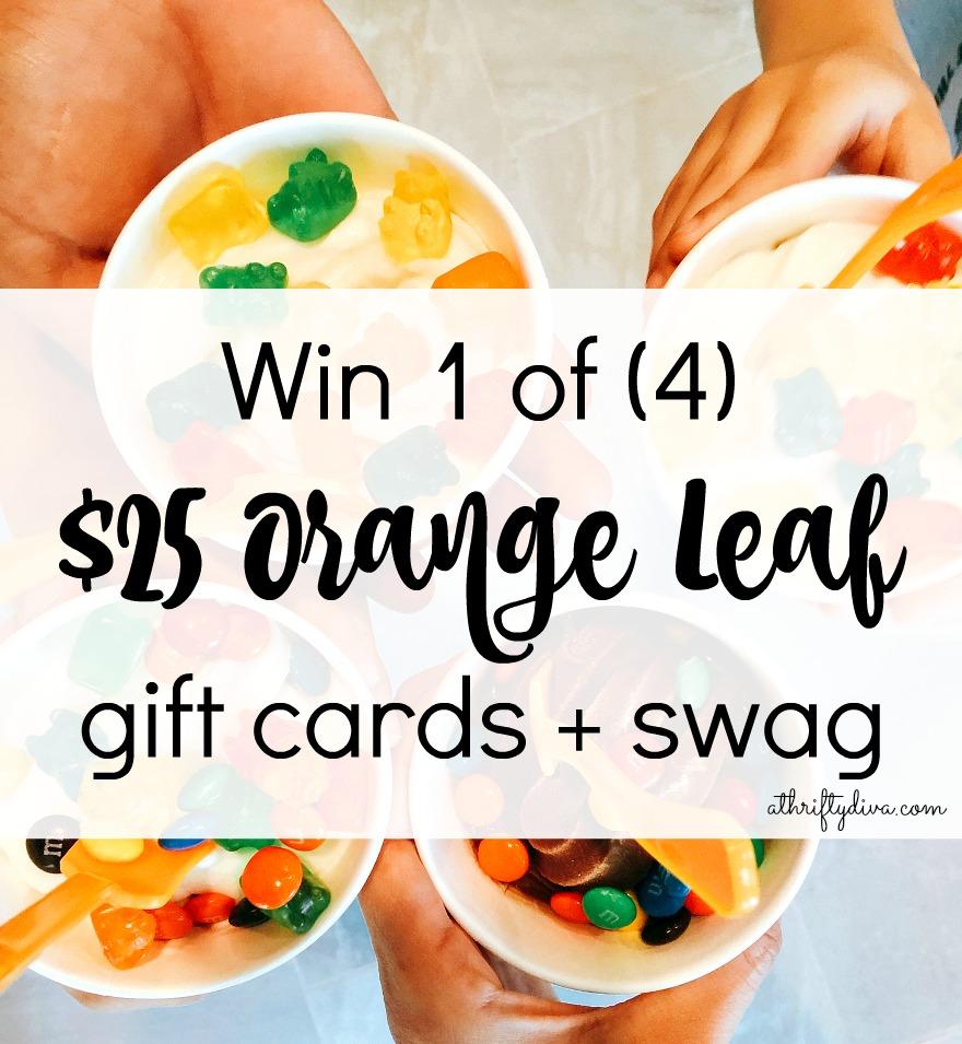 Orange Leaf Pop Up Party Box giveaway