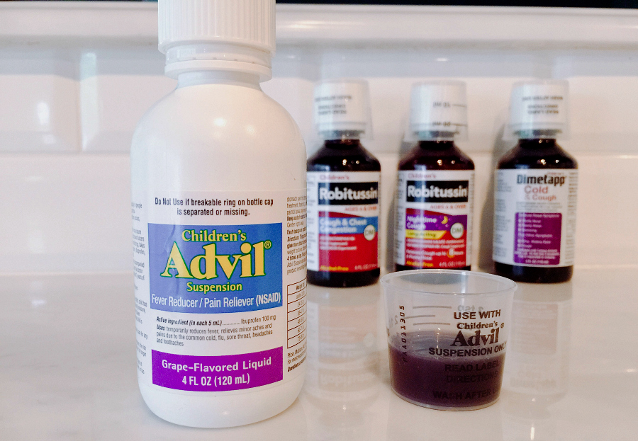 Children's Advil #SickJustGotReal