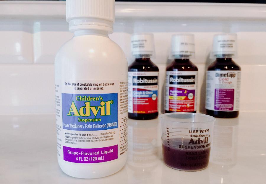 Children's Advil #SickJustGotReal