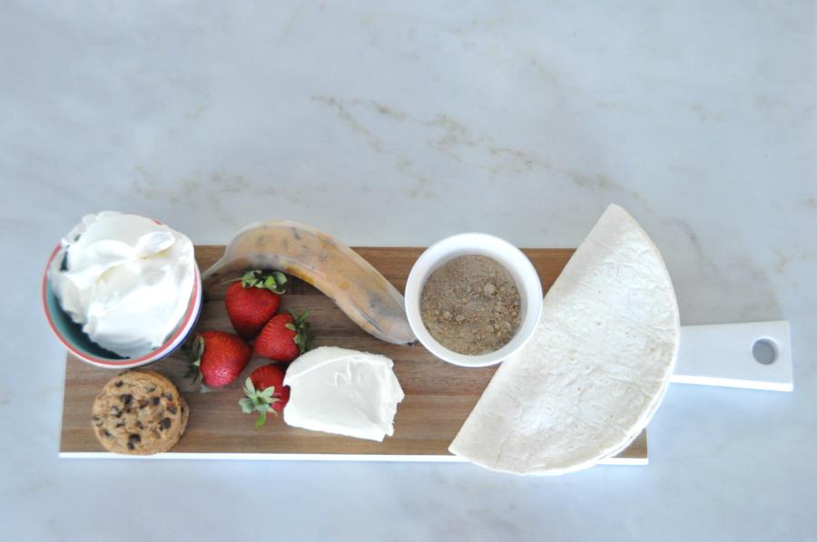 Dia del niño! Sweet Plantain Quesadilla Recipe #ConMasSabor ingredients