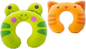 INTEX KIDZ TRAVEL PILLOWS for kids carry on