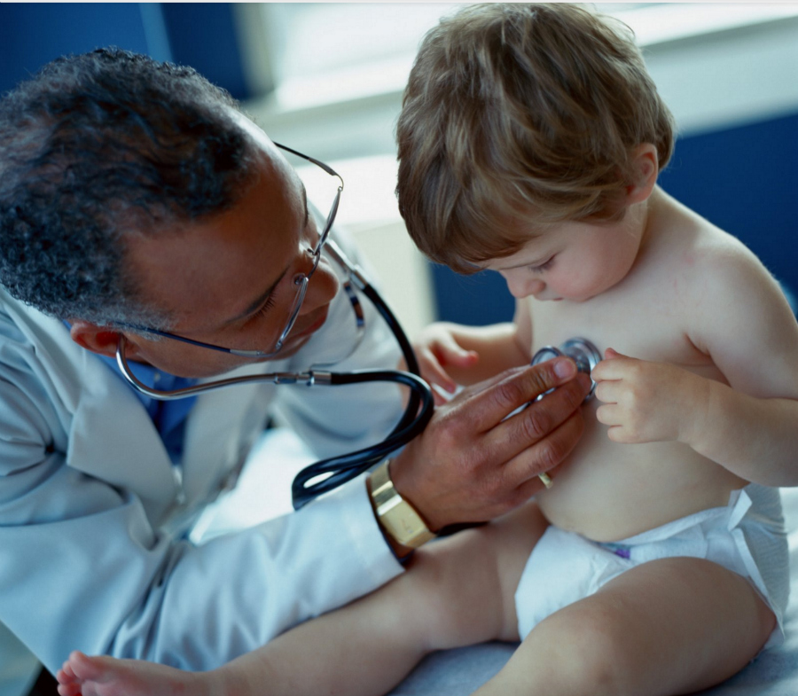 Kids Health Too Important to Overlook doctor with child