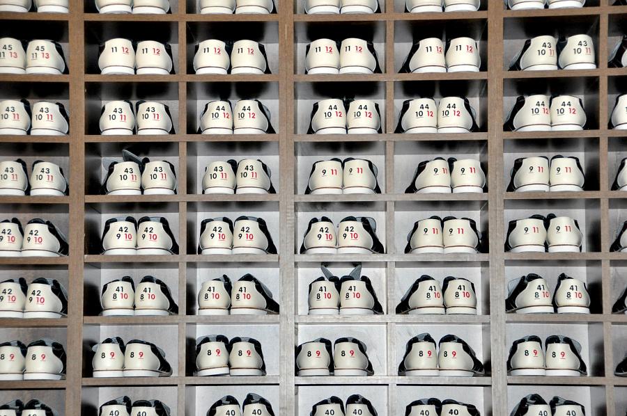 Bowling shoes at Santikos Entertainmnt Casa Blanca