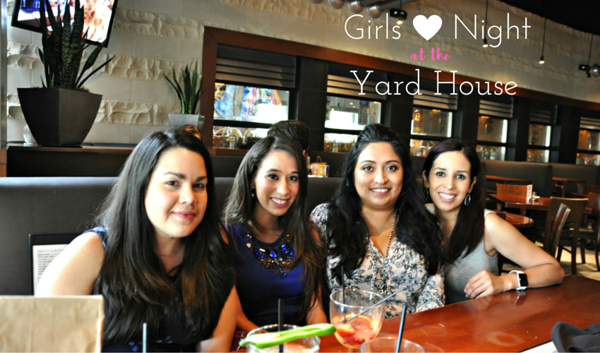 Girls night at the yard house