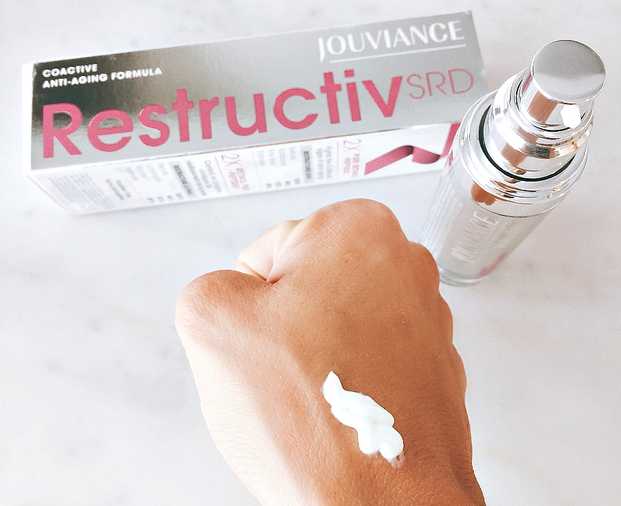 Jouviance Restructive SRD Review on athriftydiva Anti-aging Skin Care With Jouviance #BonjourJouviance