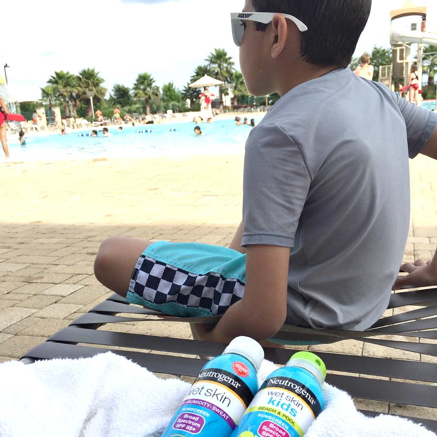 Pool Day with Neutrogena #ChooseSkinHealth