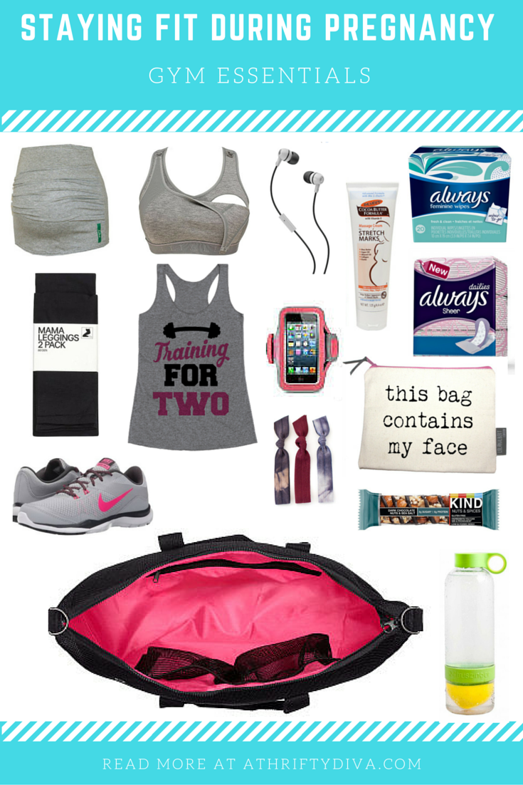 STAYING FIT DURING PREGNANCY Current workout essentials  #alwaysfresh