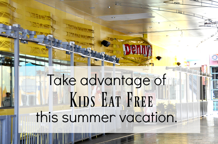 take advantage of kids eat free while on vacation