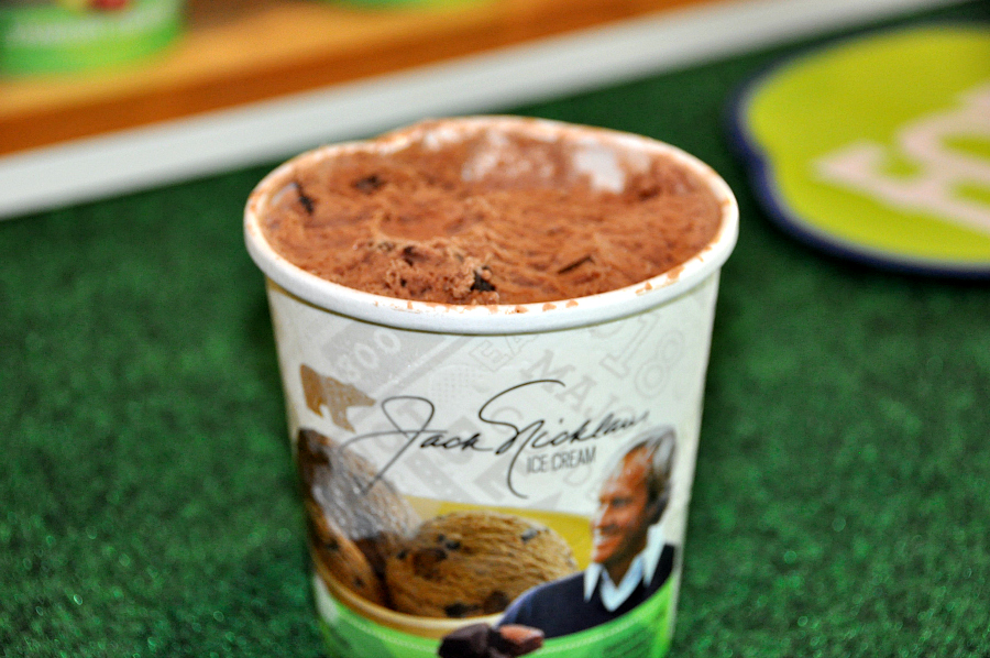 Jack Nicklaus Triple Chocolate  Ice Cream
