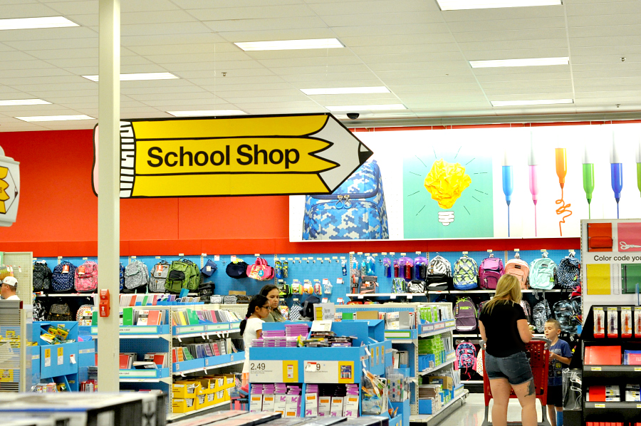Back To School Shop at Target