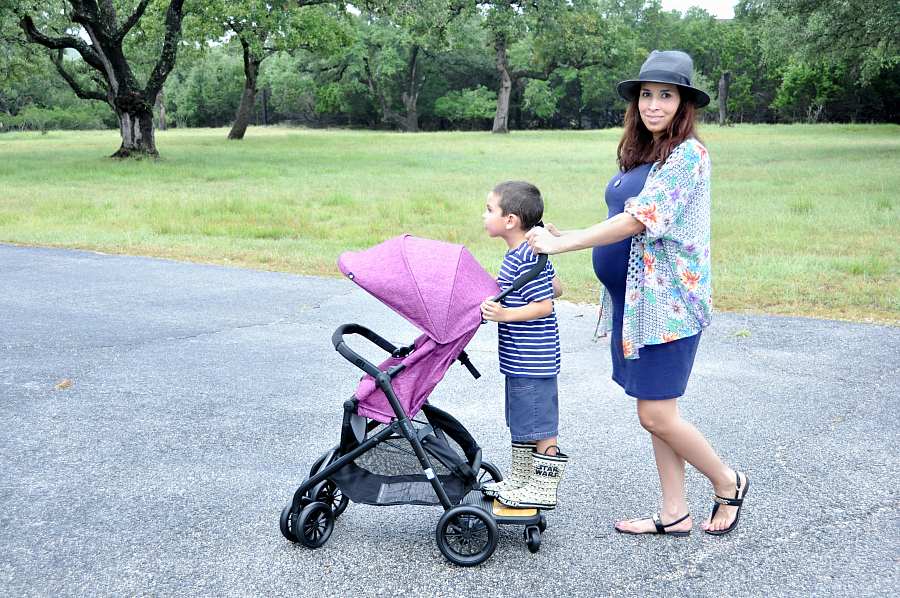 Evenflo Sibby Travel System and the Ride-Along Board for kids