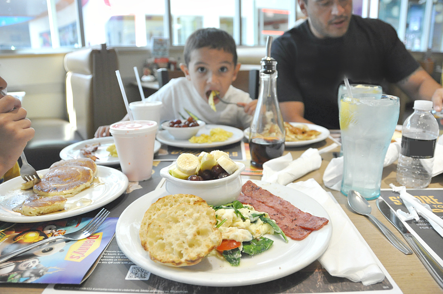 Kids Eat Free at Denny's spend your vacation saving