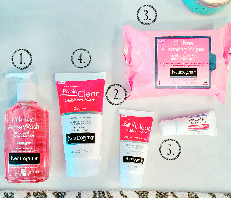 Neutrogena Acne Treatment Routine