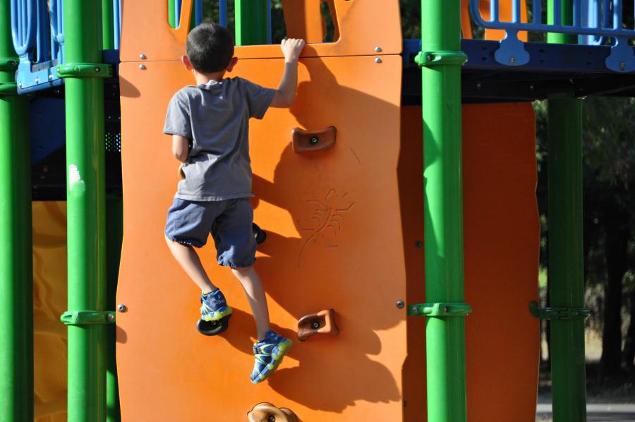 Playground in Stride Rite Leeps