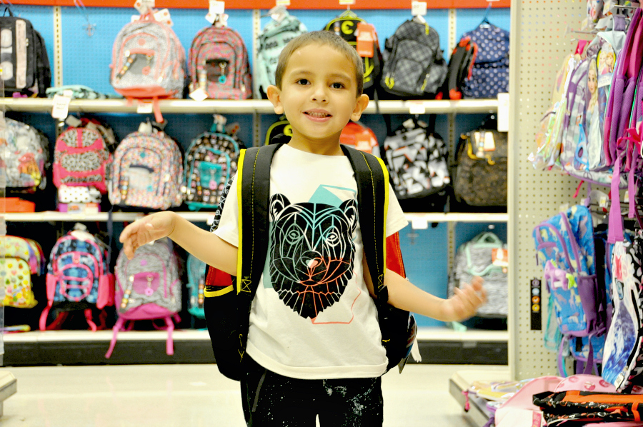 Shopping Back To School at Target