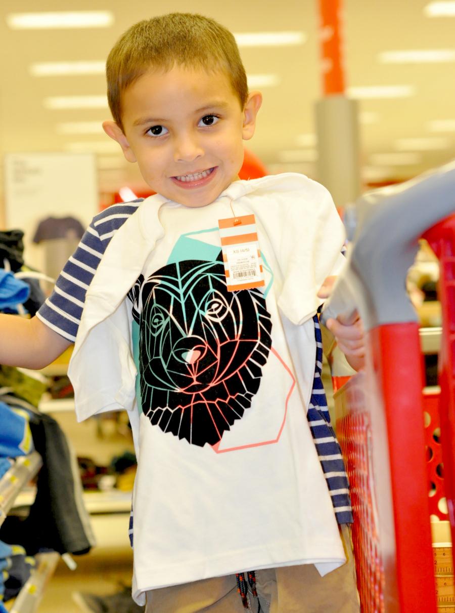 Target kids apparel