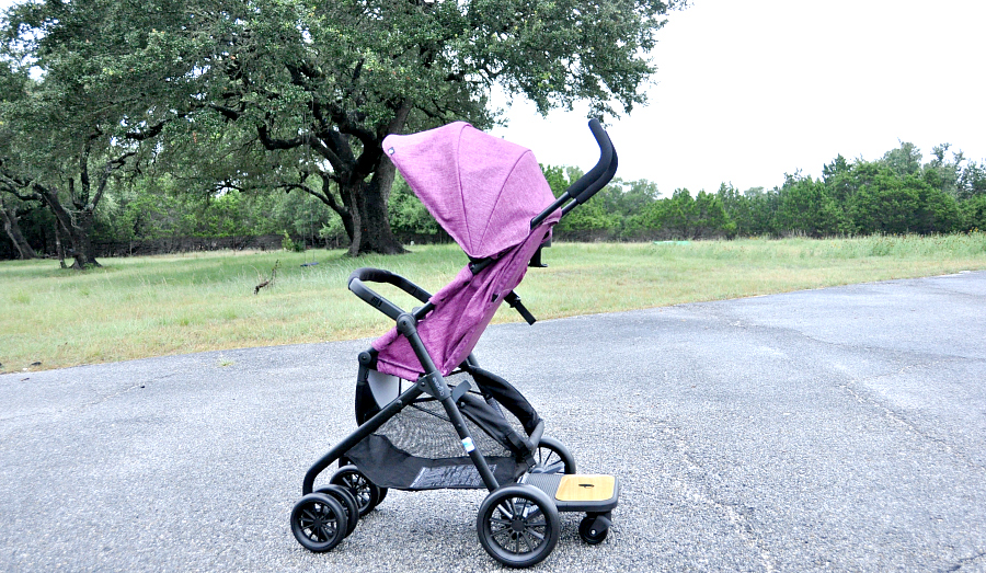 The alternative for two kids. Evenflo Sibby Travel System Ride-Along Board
