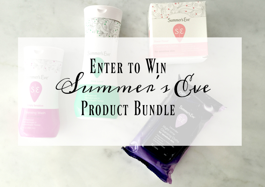 Win a summer's eve prize pack