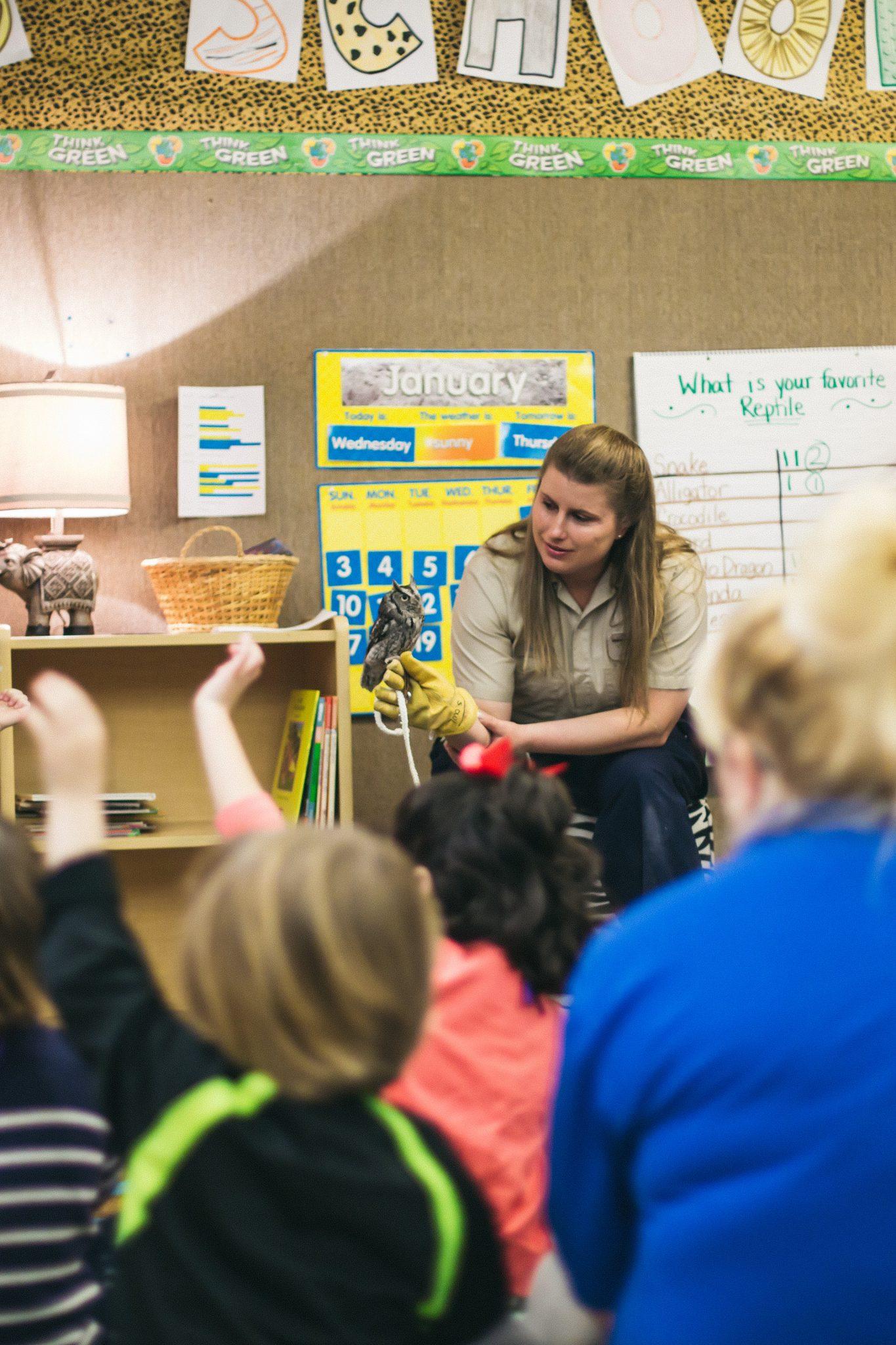 classroom at San Antonio Zoo School