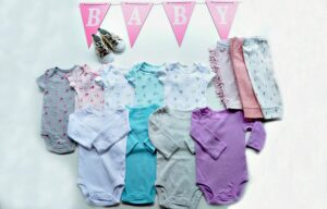The Baby Clothing Checklist with Carter's Original Bodysuit