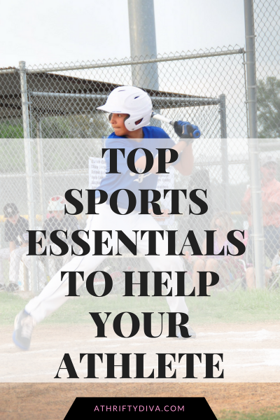 5 Top Sports Parent Essentials To Help Your Athlete on athriftydiva.com
