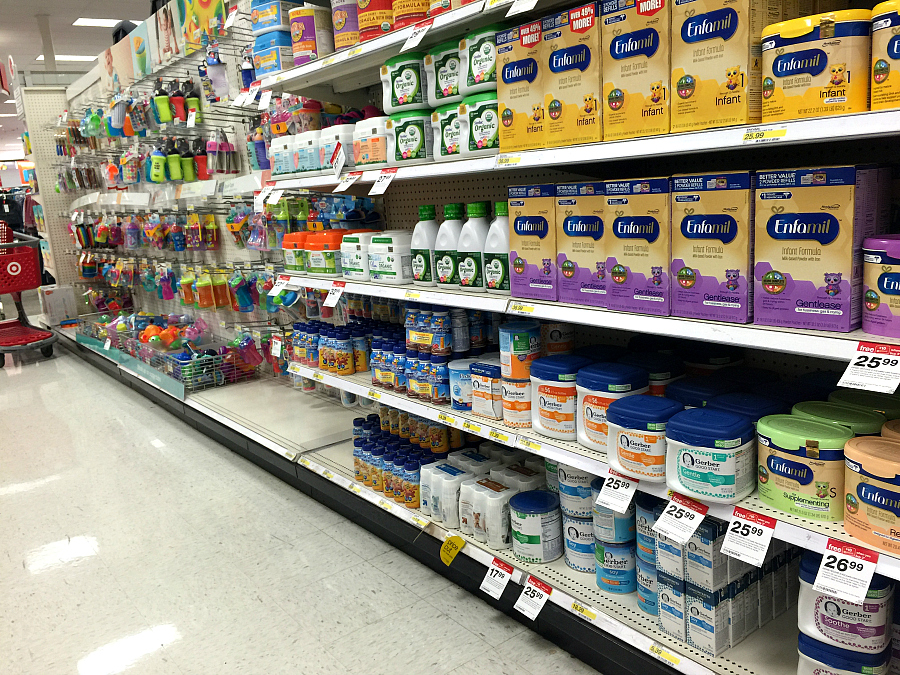 shopping-at-target-for-Gerber-Good-start-formula-plus-Coupon