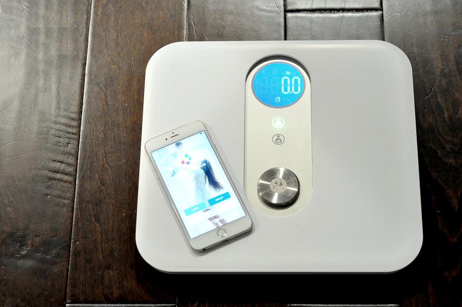 Wifi Enabled Motorola MBP84SN Smart Nursery Mother & Baby Scale