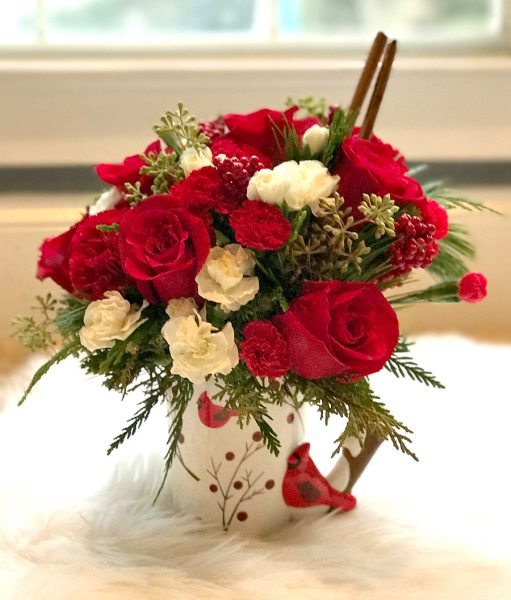 Teleflora's NEW Christmas 2016 Bouquet