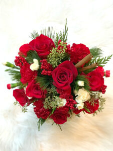 Teleflora's NEW Christmas Rose 2016 Bouquet