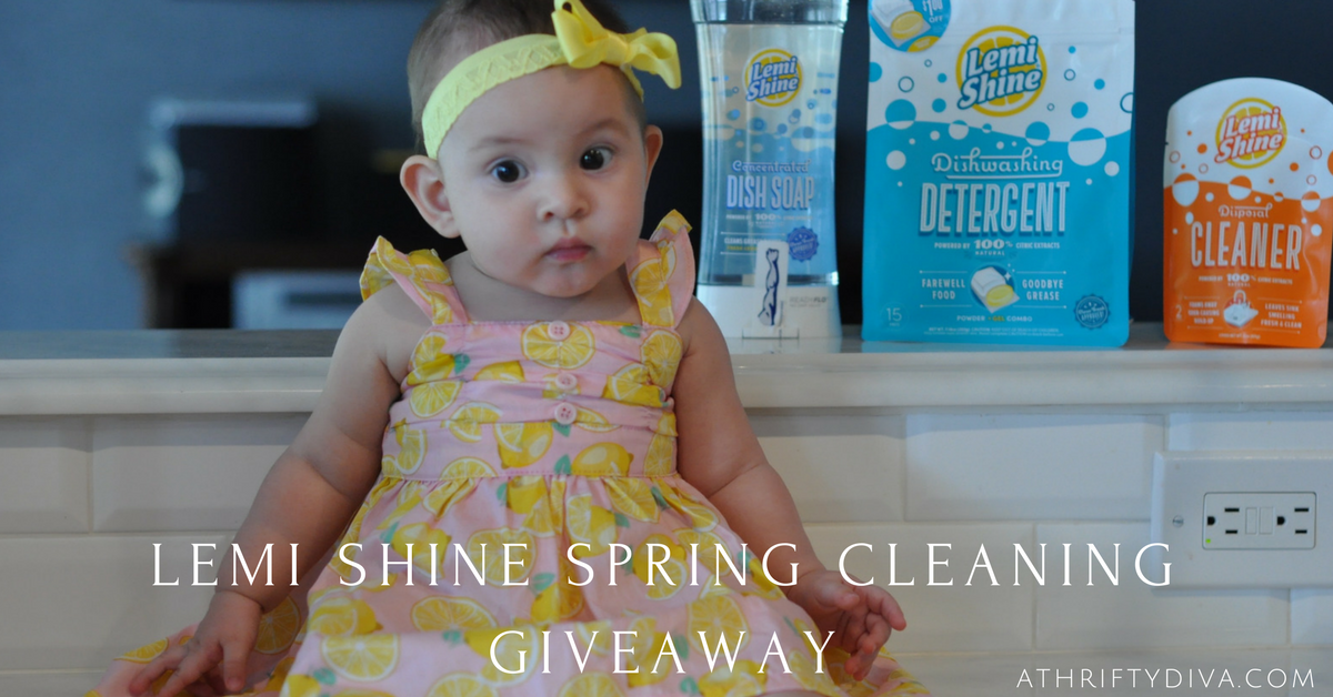 Lemi Shine Spring Cleaning Giveaway