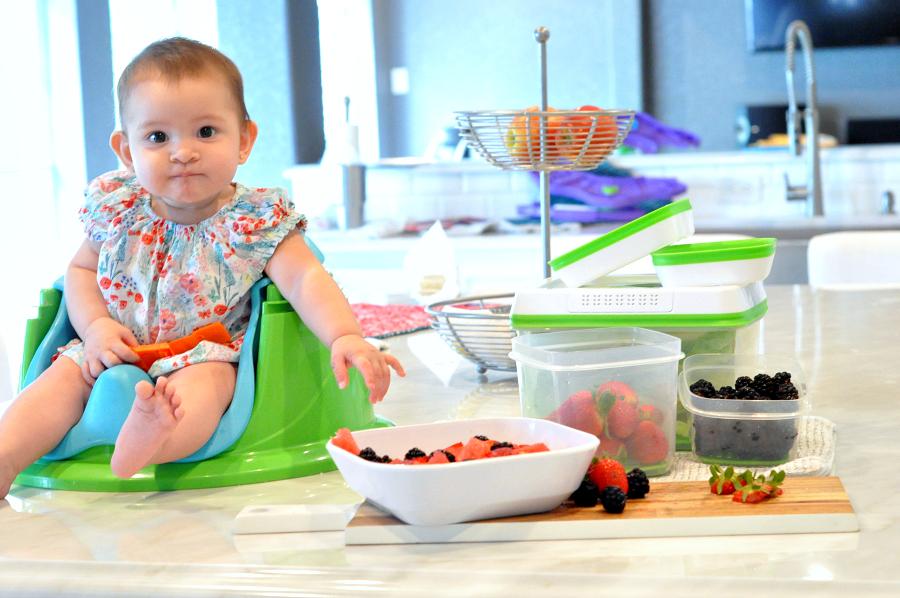 Fresh produce with Rubbermaid #FreshWorksFreshness
