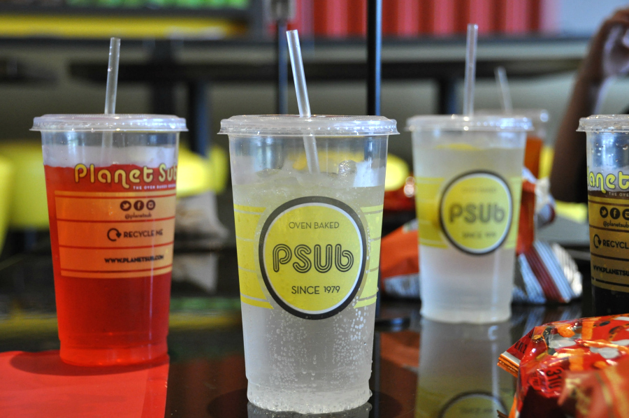 PSub drinks at Planet sub