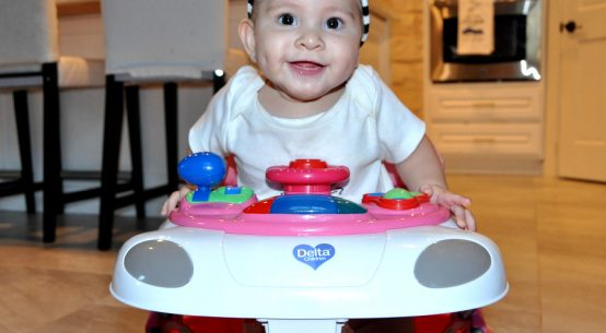 A closer look at The Delta Children Delta Lil' Fun Walker Review when is baby ready for a baby walker