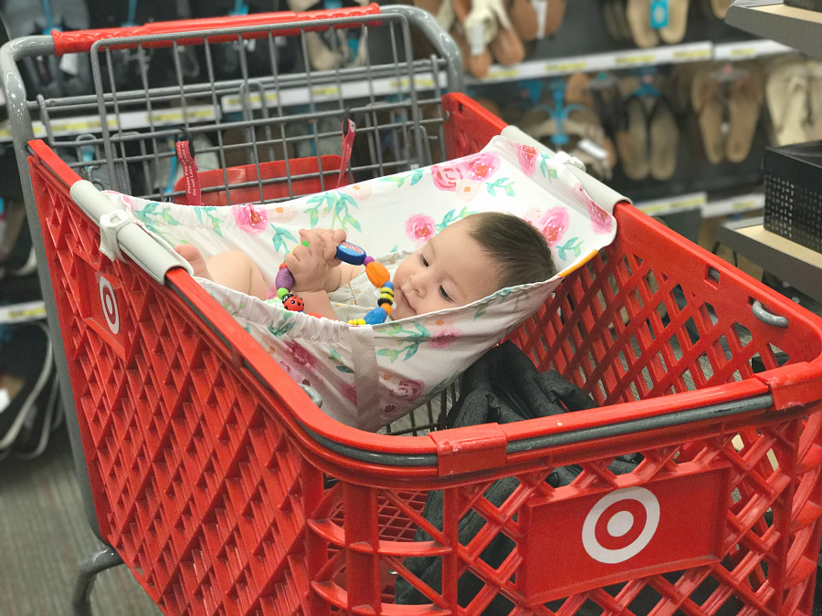 Binxy Baby hammock shopping cart