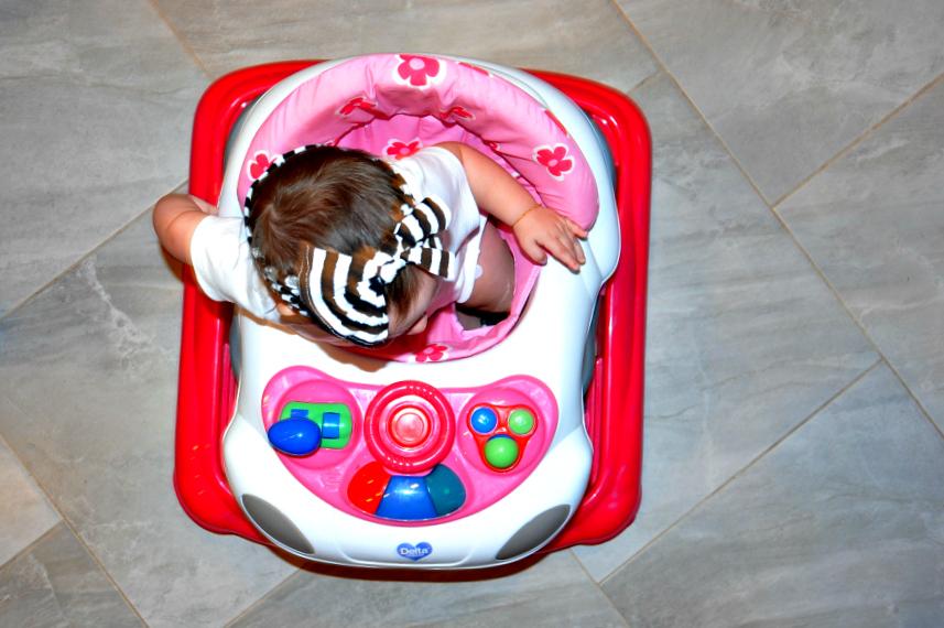 Delta Lil' Fun Walker Review | When is baby ready for a walker