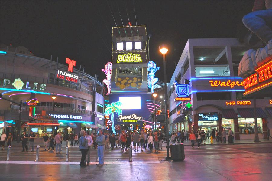 Downtown Las Vegas Freemont Experience