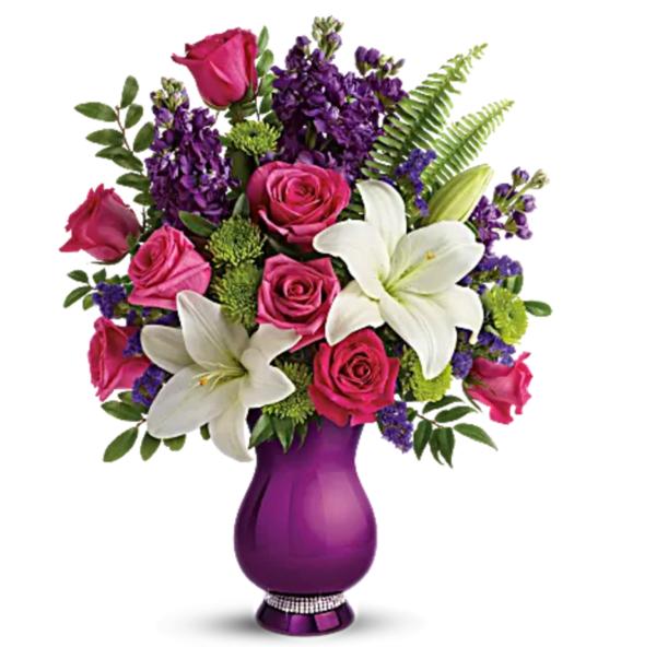 Telefloras sparkle and shine bouquet