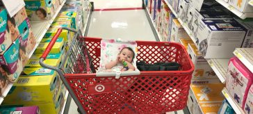 Shopping with a baby! The game changer Binxy Baby