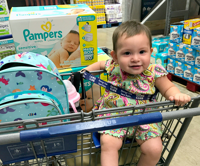 PAMPERS WIPES AND DIAPERS AT SAMS'S CLUB