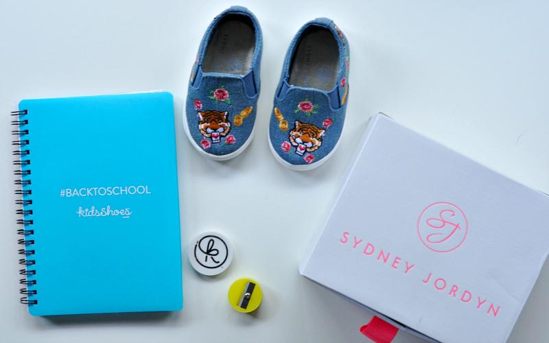 Sydney Jordyn kids shoes