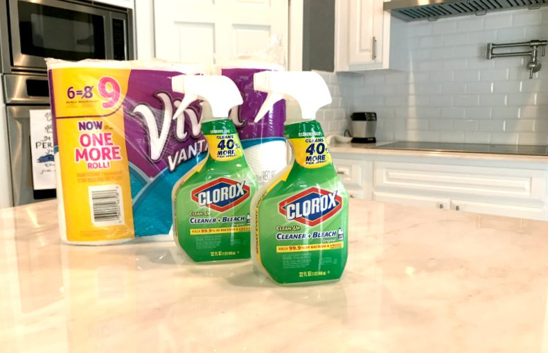 clean squad this summer to tackle all our family's messes the easy way! Learn more about the two products I can't live without on the blog #UnleashTheCleanSquad #Ad