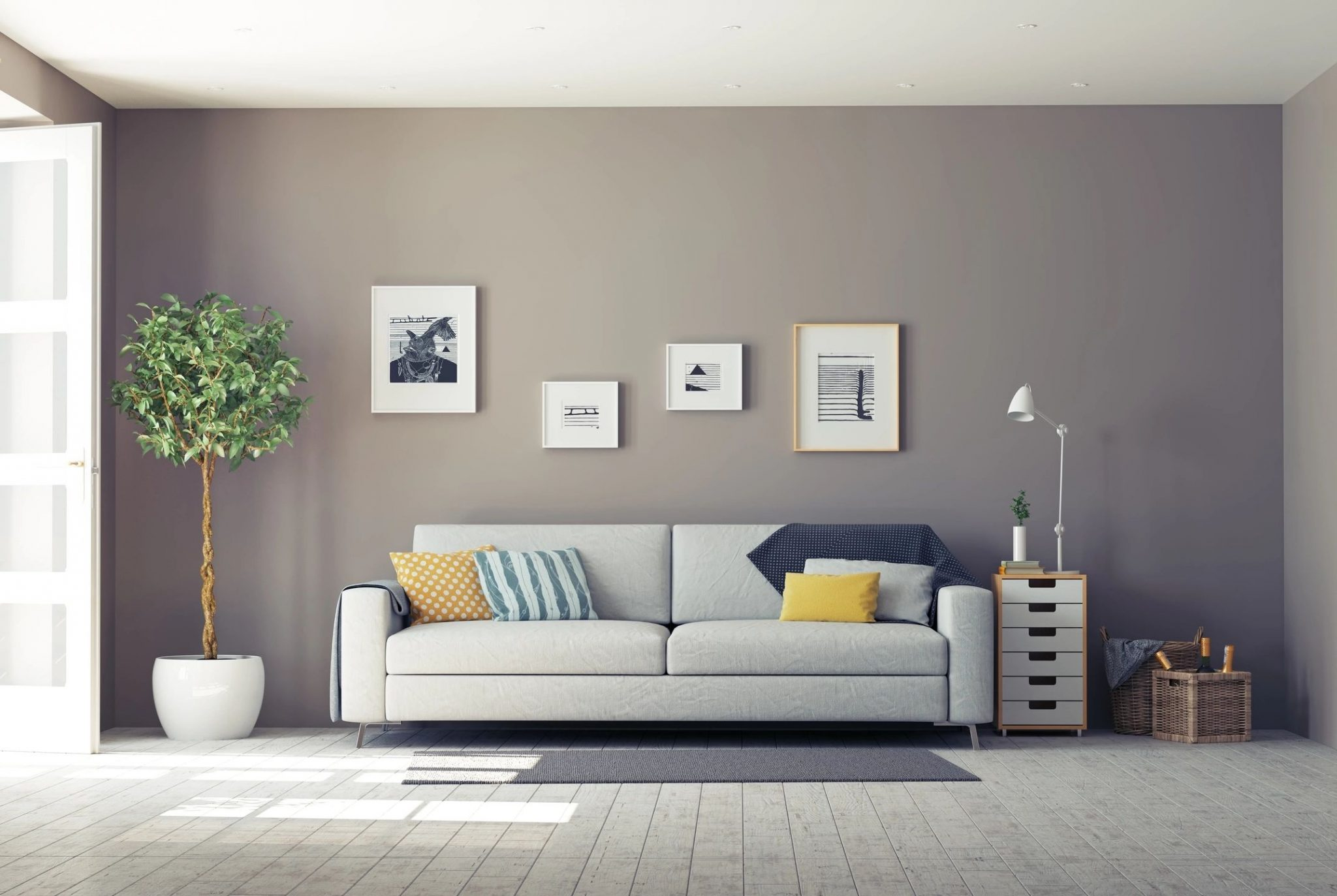 Hiring The Best Contractors To Renovate Your Home. Updated living area.