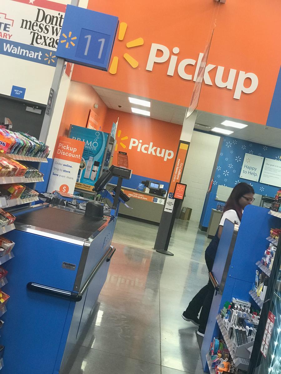 Coleman Pickup at Walmart