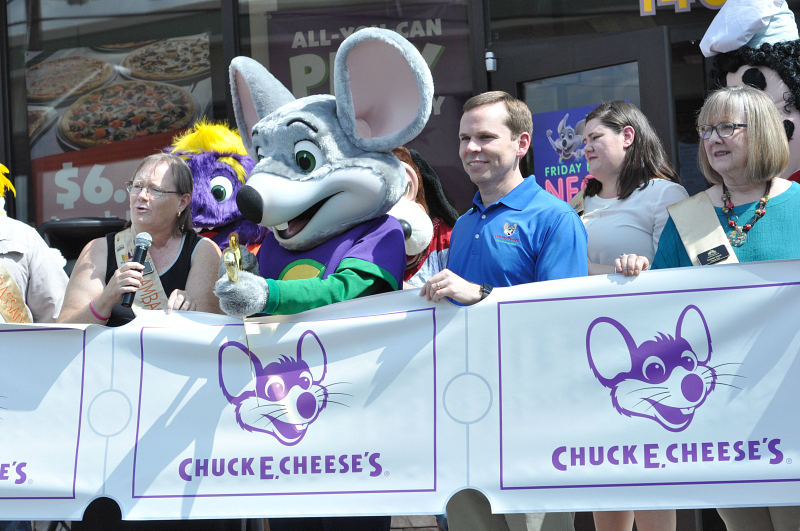 Grand Reopening of Chuck E. Cheese's San Antonio Stone Oak