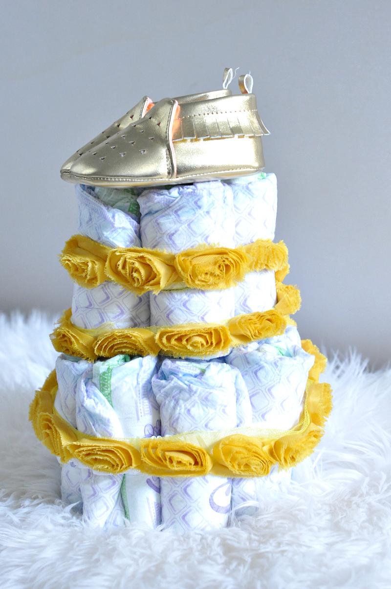 Luvs Diaper Cake