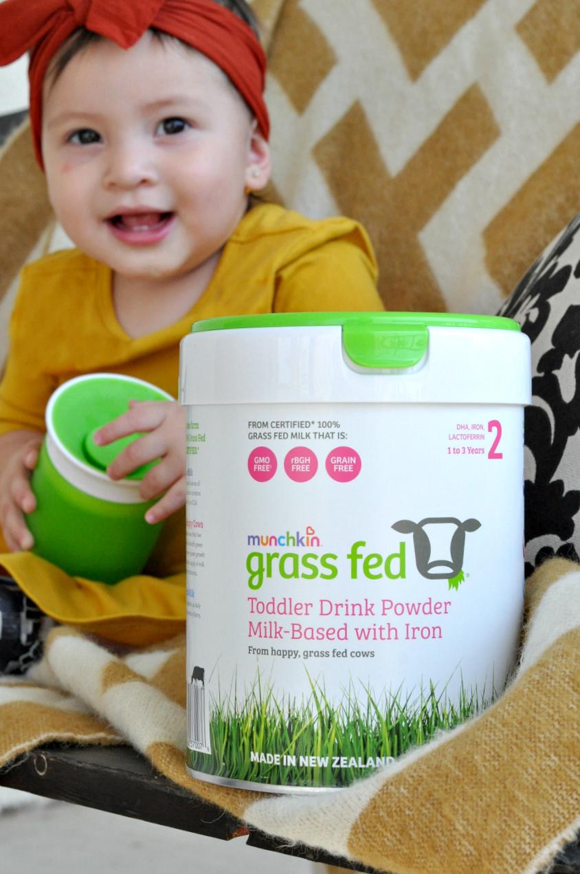 Munchkin Grass Fed Toddler Drink Powder
