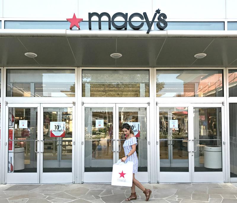 VIP sale at Macy's