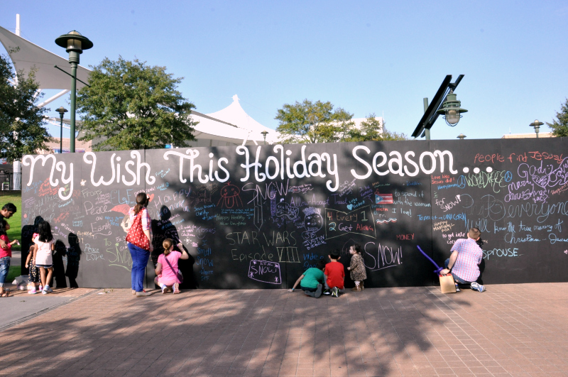 The woodlands My Wish This Holiday Season Wall